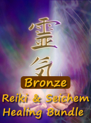 Reiki and Seichem Bronze Healing Bundle image