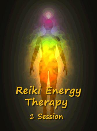 Reiki Energy Therapy 1 Session