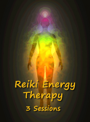 Reiki Energy Therapy 3 Sessions Healing Bundle