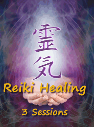 Reiki Healing Session 3 Bundle