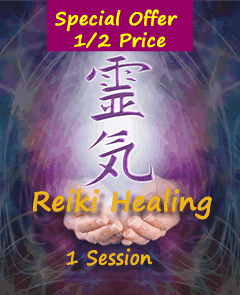 Reiki Healing Half Price Special Offer